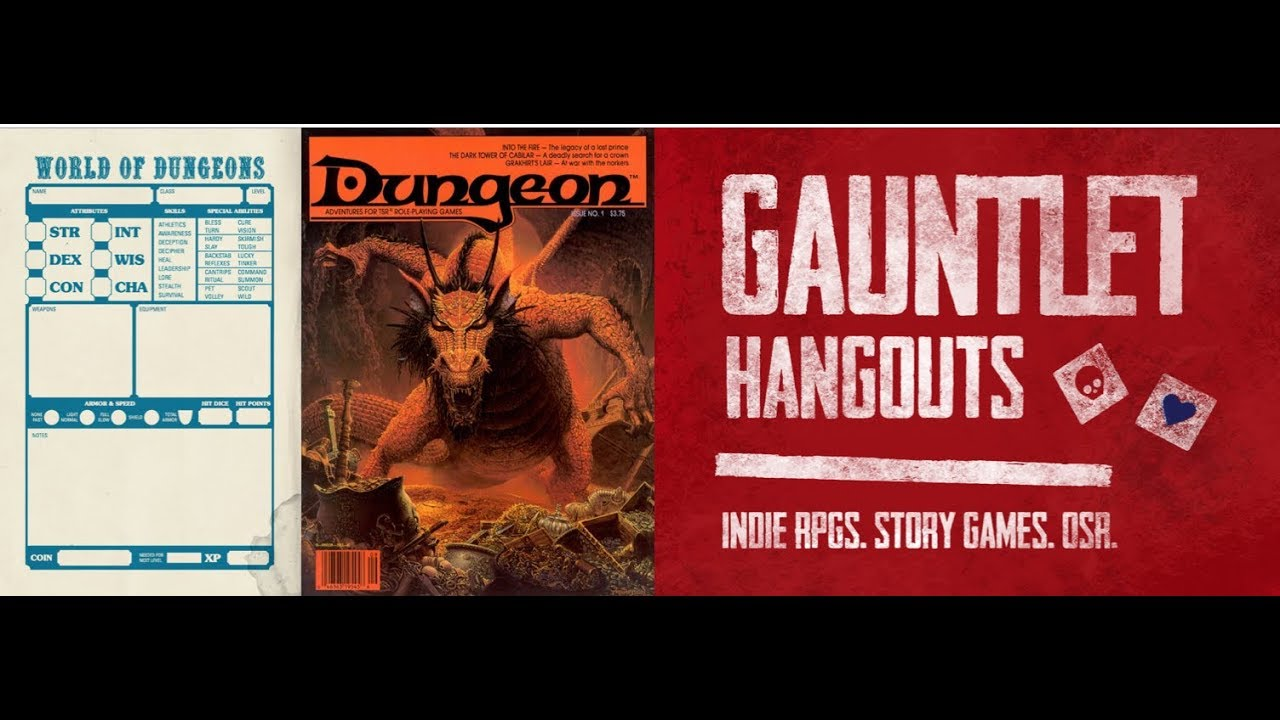 World of Dungeons: Into the Fire (Session 4 of 5)