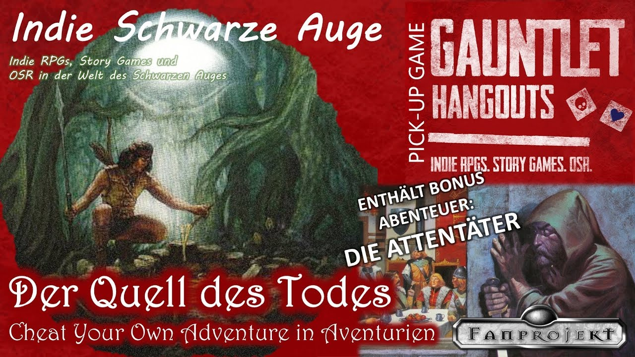 ISA - Cheat Your Own Adventure: Quell des Todes