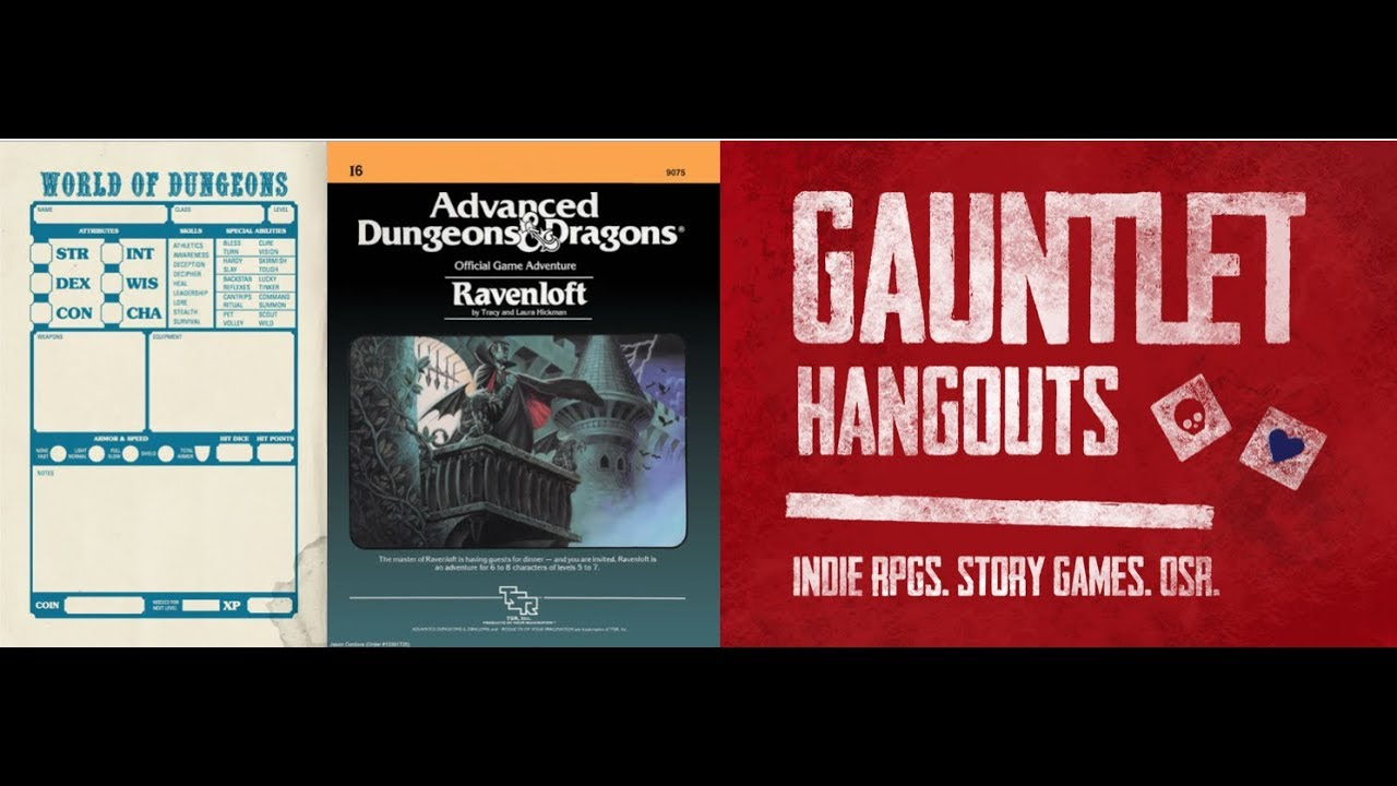 World of Dungeons: Ravenloft (Session 5 of 5)