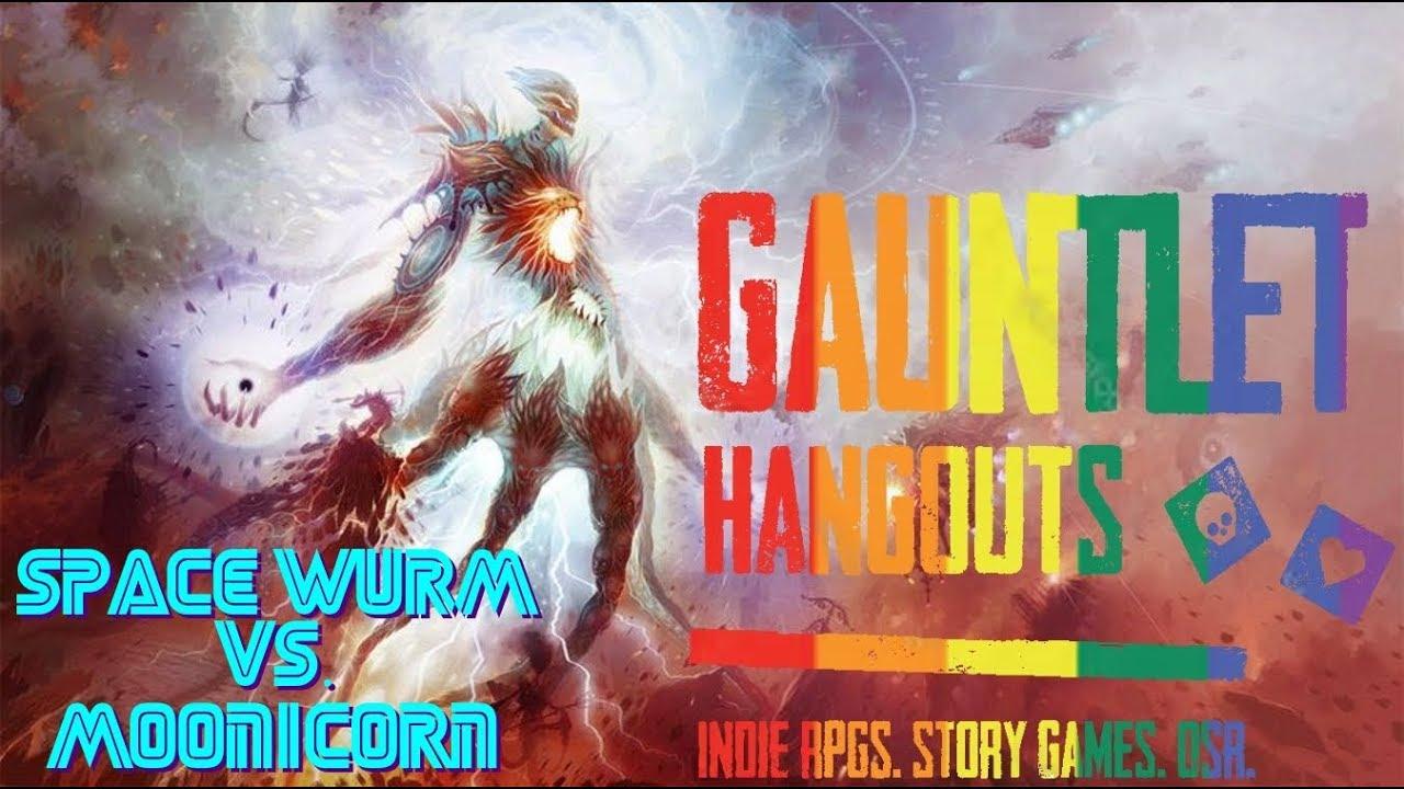 Gauntlet Space Wurm vs Moonicorn 1 of 2