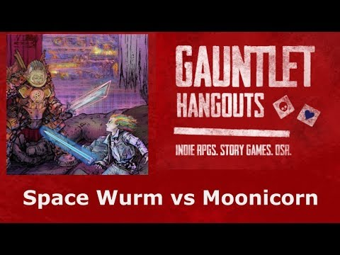 Space Wurm vs Moonicorn (1 of 2)