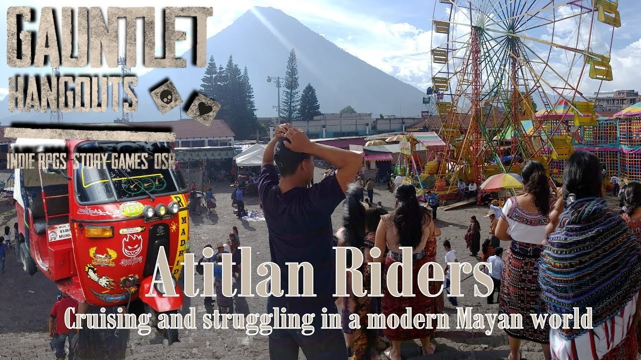 Gauntlet Wild Moto Drama - Atitlan Riders part 1/3
