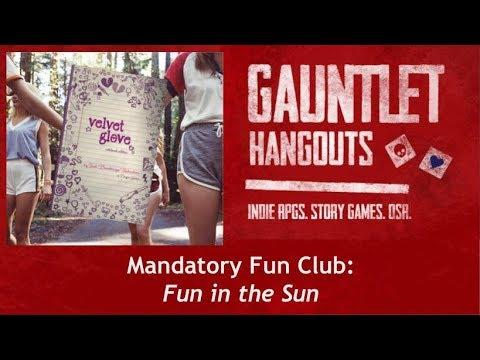 The Gauntlet Mandatory Fun Club: Velvet Glove (One-Shot)