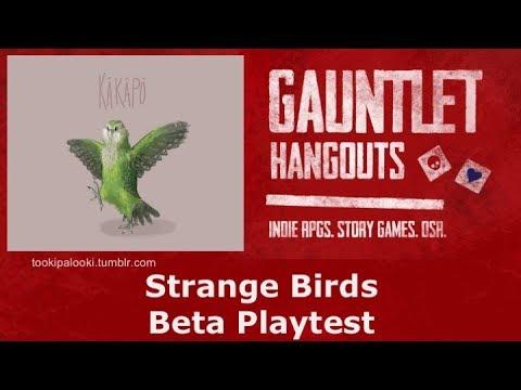 Strange Birds - Beta Playtest