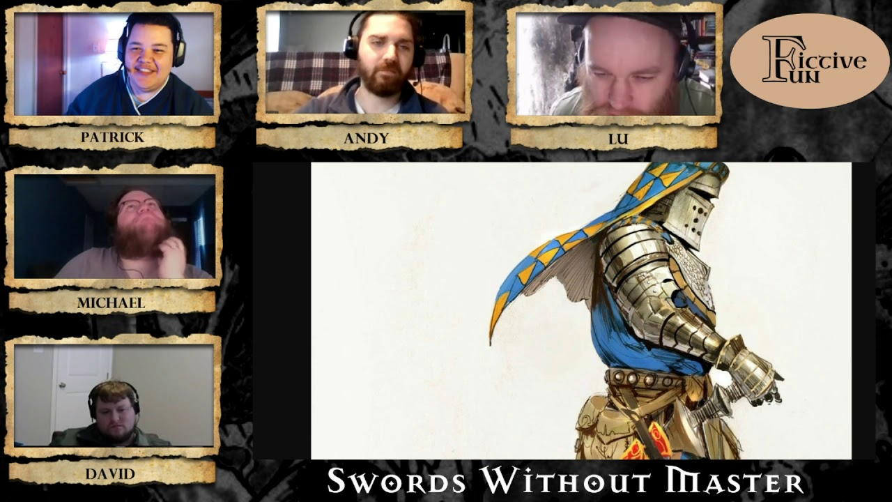 Saturday Stories - Swords Without Master (1/19/2019)