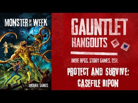 Monster of the Week: Protect & Survive - Casefile Ripon