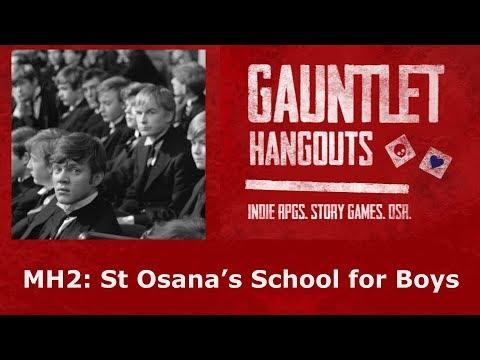 Monsterhearts 2: St Osana's School for Boys (2/4)