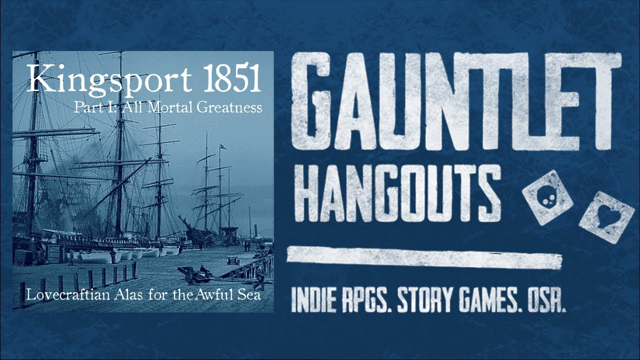 Alas for the Awful Sea: Kingsport 1851, Part I (4 of 4)