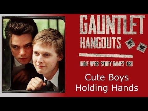 Cute Boys Holding Hands