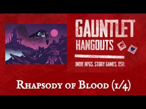Rhapsody of Blood (1 of 4)