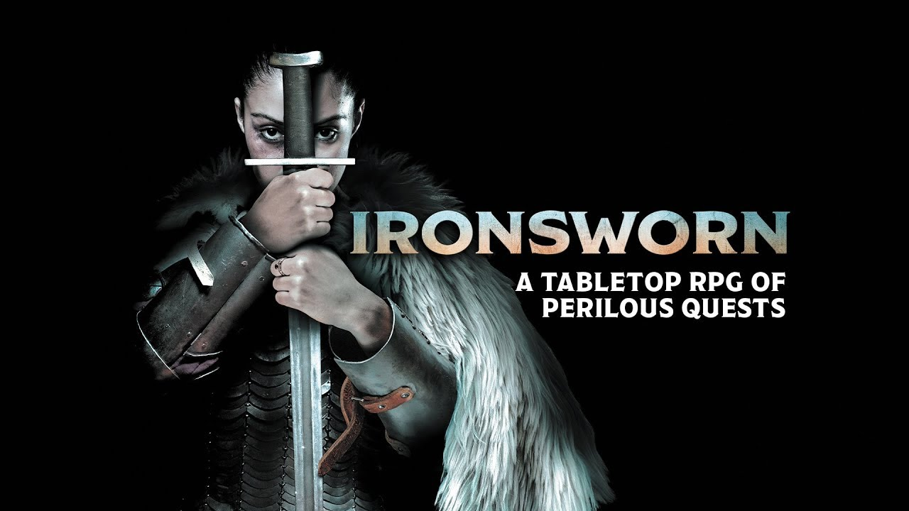 """Ironsworn (1 of 1) Co-Op """"Tales of the Iron Gauntlet"""""""
