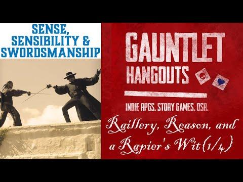 Raillery, Reason & a Rapiers Wit (1/4)