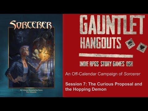 """Sorcerer: """"Demons are Social Media Junkies"""", Session 7"""