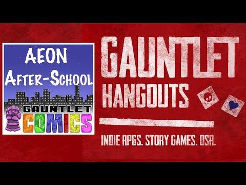 Gauntlet Comics—Masks: AEON After-School (Session 3/3)