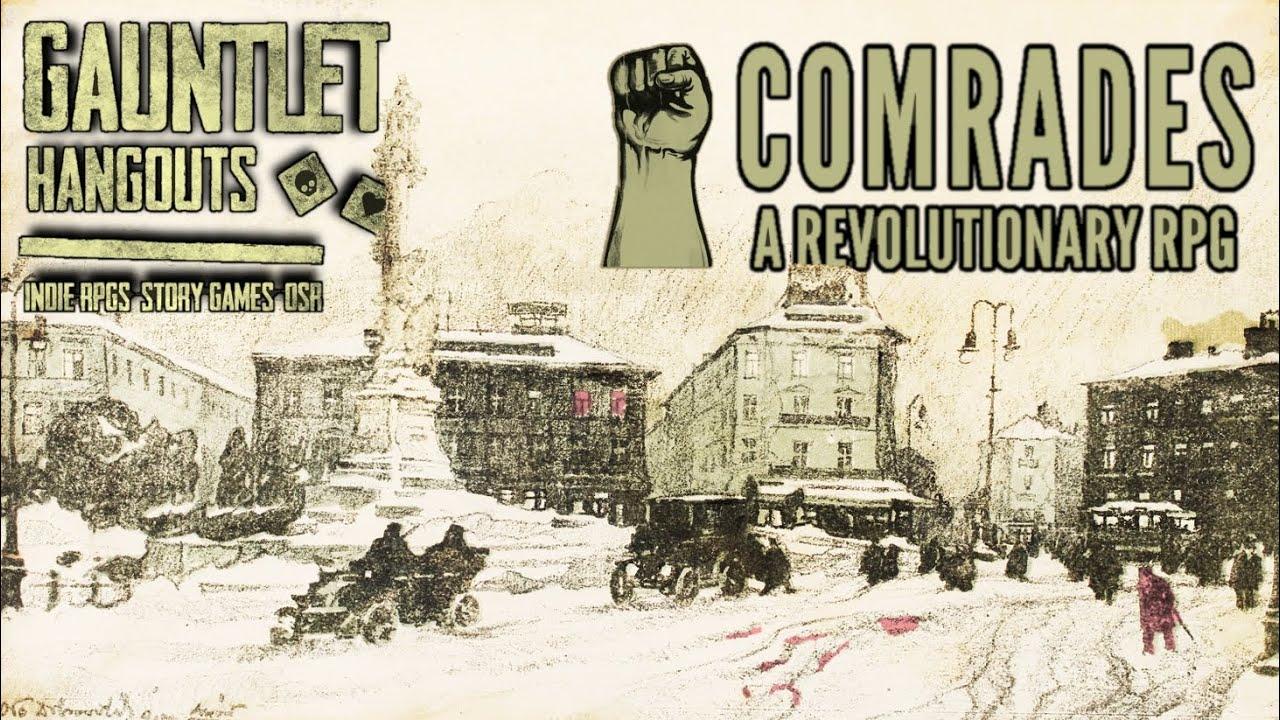 [GERMAN] Comrades: A Revolutionary RPG (2of3)