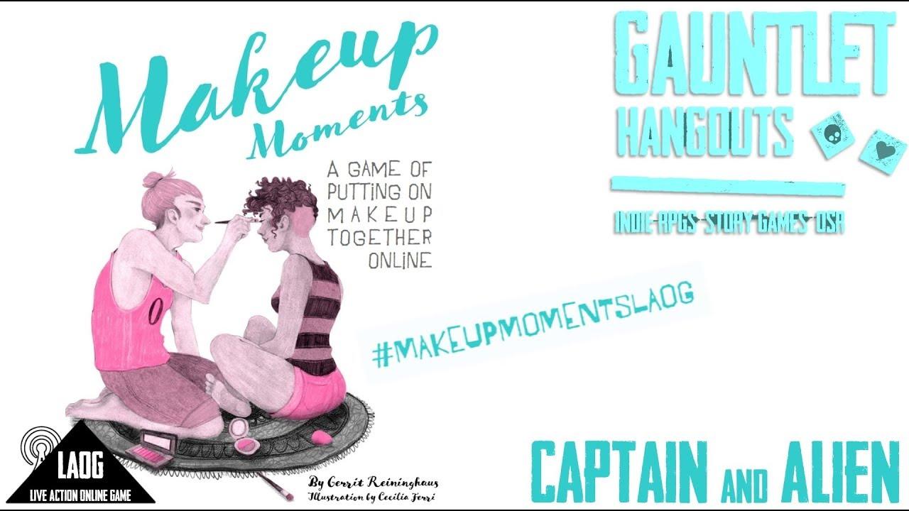 Makeup Moments: Captain and Alien