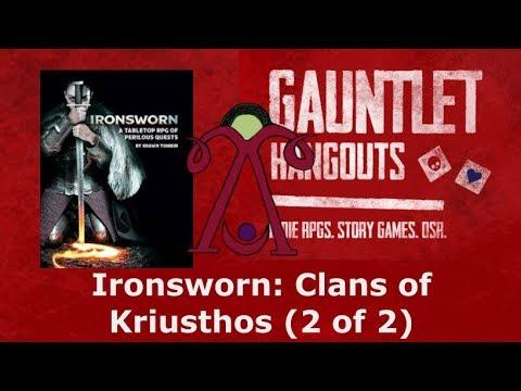 Ironsworn: Clans of Kriusthos (2 of 2)
