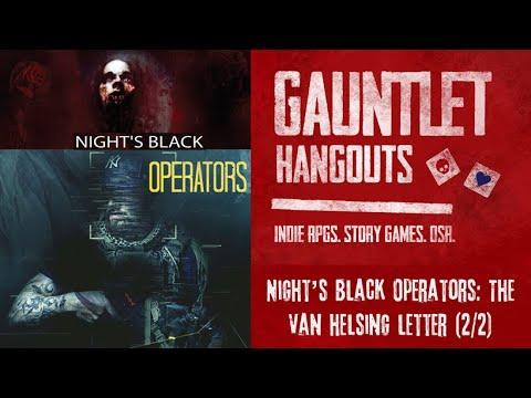 Night's Black Operators: The Van Helsing Letter (2/2)