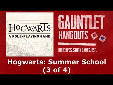 Summer School: Hogwarts (3 of 4)