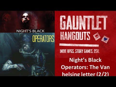 Night's Black Operators: The Van Helsing Letter (Group 2:2/2)