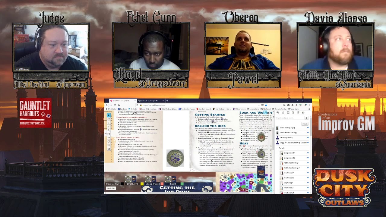 Gauntlet Con: Dusk City Outlaws: The Silver Job