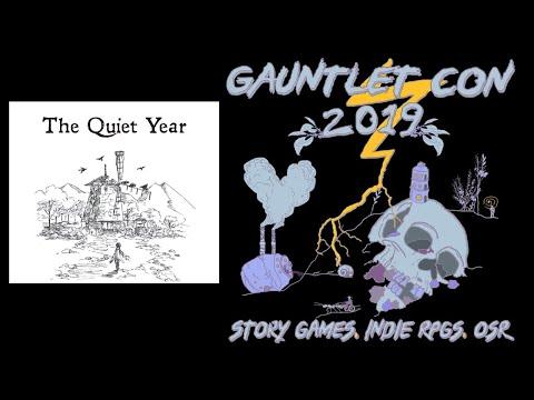 The Quiet Year - Gauntlet Con 2019 (10/27/19)