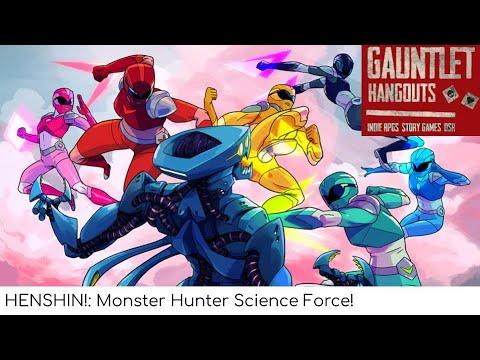 Henshin - Monster Hunter Science Force! GO!