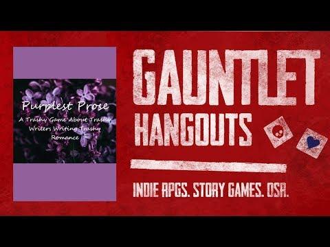 Purplest Prose: Gauntlet Sunday