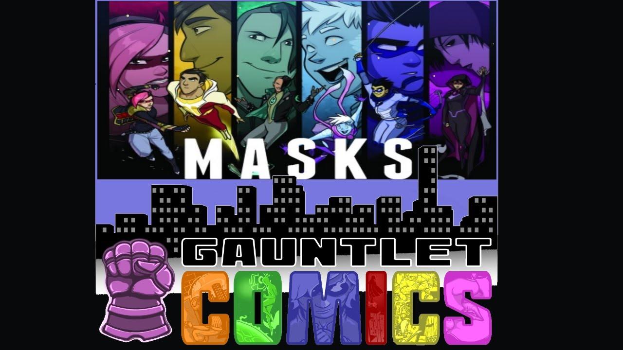 Gauntlet Comics: Masks 06
