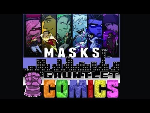Gauntlet Comics: Masks 08