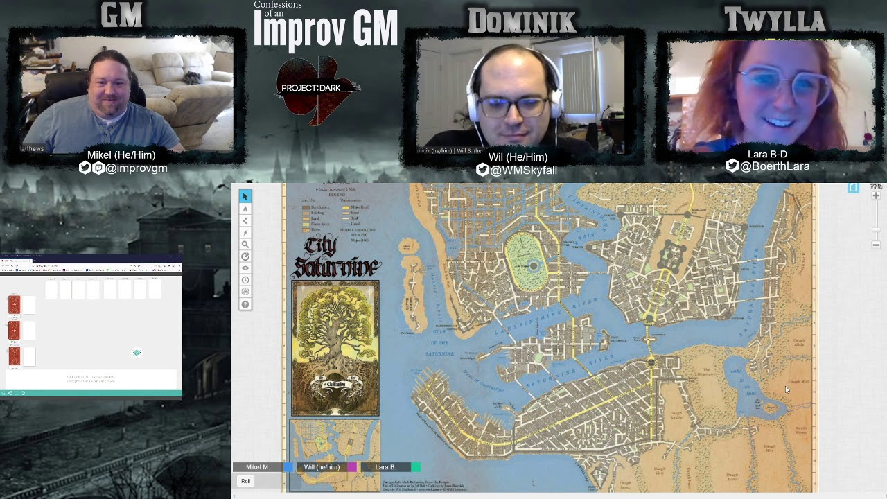 Gauntlet Games: Project Dark Session 3: Church of the Ancestors