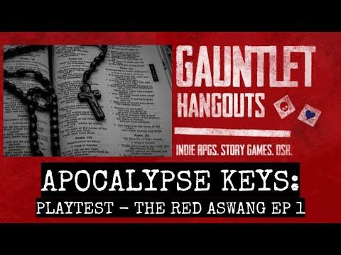APOCALYPSE KEYS - The Red Aswang Ep 1 (playtest)