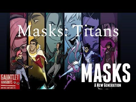 Masks:Titans Issue 3 [Danger Danger!]