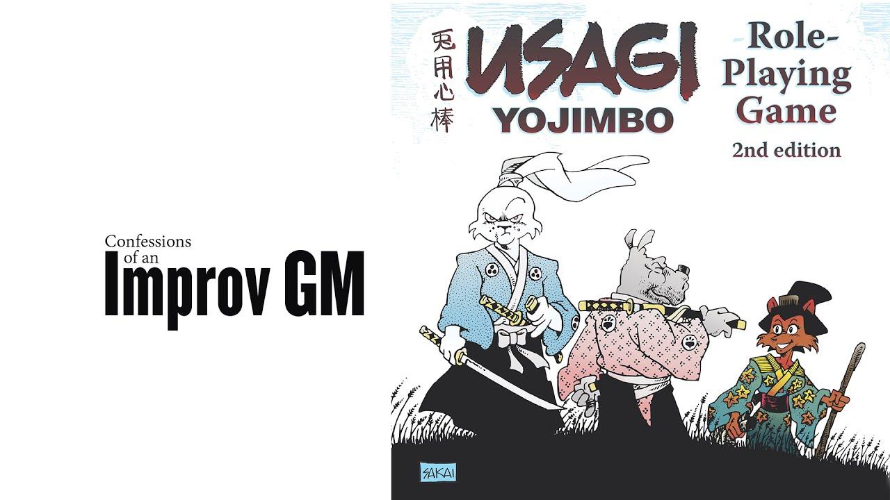 Usagi Yojimbo RPG Gauntlet Games Session 2: Bounty's Due