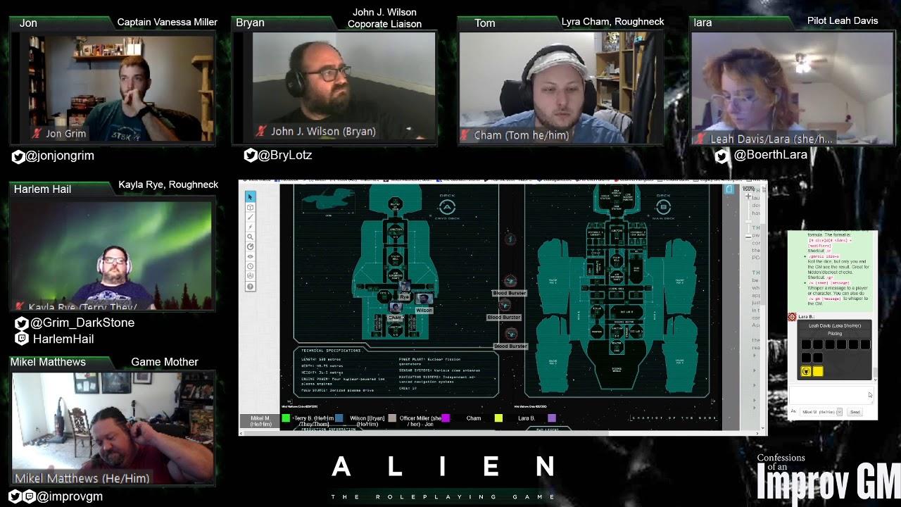 Gauntlet Games: Alien RPG: Chariot of the Gods Part 2