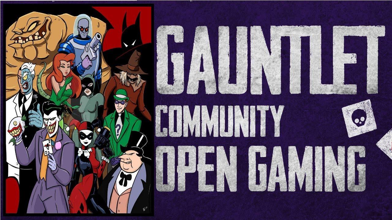 The Final Rogue: Gauntlet Open Gaming Summer 2020