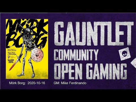 Gauntlet Community Open Gaming: Mörk Borg - Rotblack Sludge!
