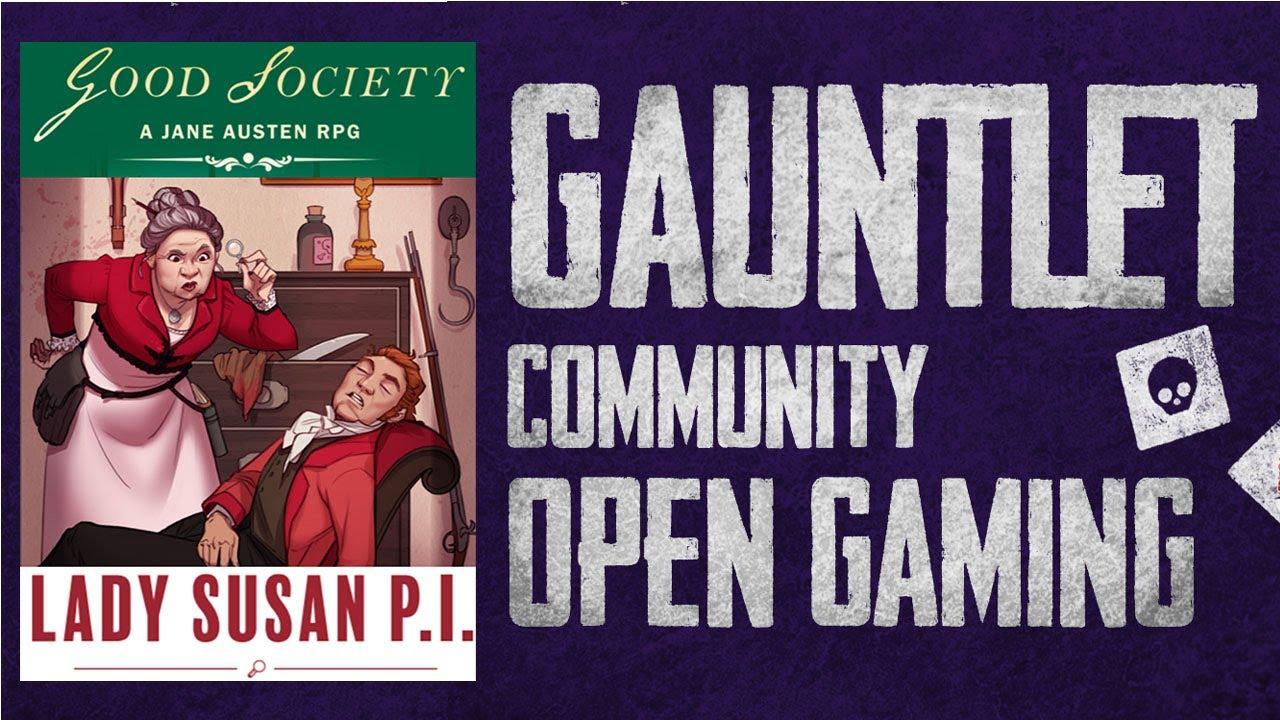 Good Society: Lady Susan, P.I.