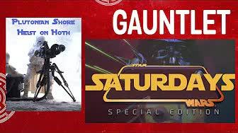 Star Wars Saturday— Plutonian Shore: Heist on Hoth