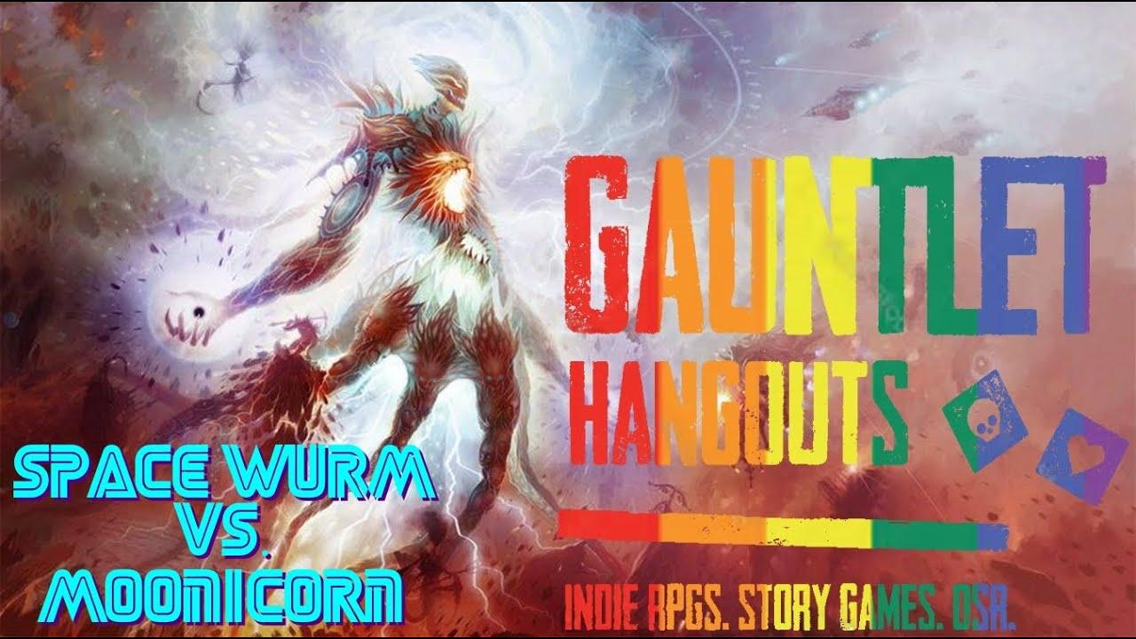 Gauntlet Space Wurm vs Moonicorn