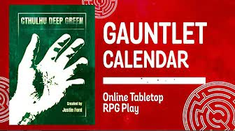 Cthulhu Deep Green: Operation Fulminate (2 of 2)