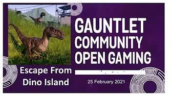 GCOG: Escape From Dino Island 2021-02  Part 1