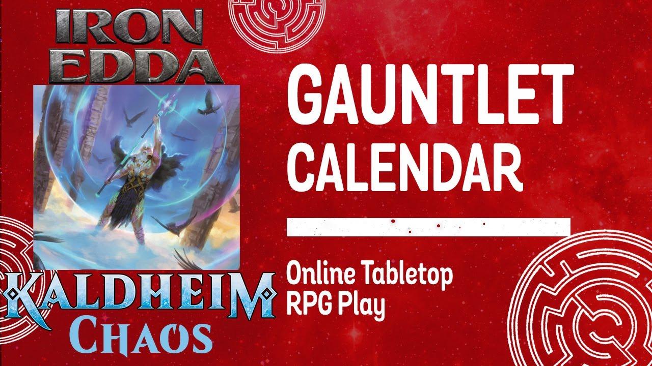 Magical Multiverse Tour—Iron Edda: Kaldheim Chaos (Session 2/4)